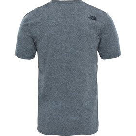 The North Face Easy T-shirt Heren, tnf medium grey heather